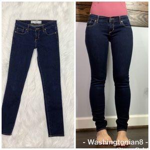 Abercrombie & Fitch Jeans Brett Skinny Size 24/00